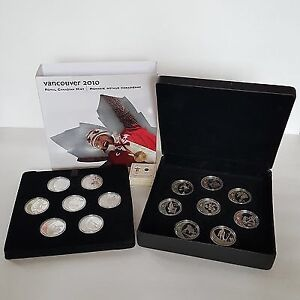 Vancouver 2010 silver full set