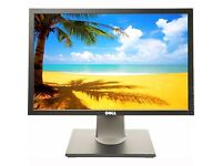 "DELL 19"" Ultra-Sharp Widescreen TFT Computer PC Monitor Screen 1440 x 900 **1 YEAR WARRANTY**"