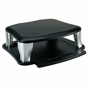 Targus Monitor Stand with integrated slidable laptop holder