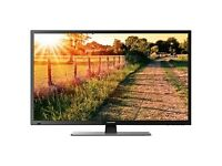 NEW CONDITION 50 INCH LED FULL HD WITH BUILT IN HD FREEVIEW AND BOX