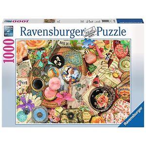 RAVENSBURGER PUZZLE 1000 PCS. COLLAGE D'ANTAN COMME NEUF