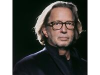 Eric Clapton at the Royal Albert Hall- seated tickets available