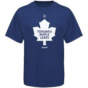 Reebok Toronto Maple Leafs NHL Logo T-Shirt - Royal Blue XL