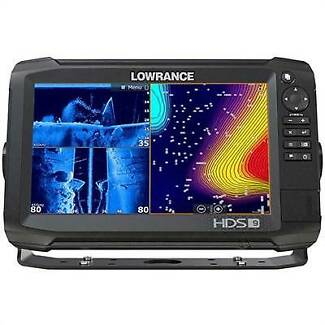 Lowrance HDS-9 Carbon 9in Touch Combo with 3D Bundle Pack