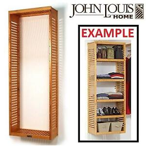 NEW JL DELUXE STAND ALONE TOWER - 129114536 - JOHN LOUIS HONEY MAPLE