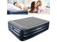 Bestway queen size electric blow up bed