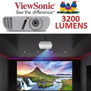 NEW VIEWSONIC 3200 LUMENS PROJECTOR PJD7828HDL 218644980 HOME THEATER HDMI 1080P 10W SPEAKERS