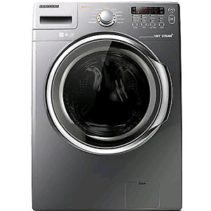 Samsung Front load steam washer 4.3 cu. ft. With diamond drum