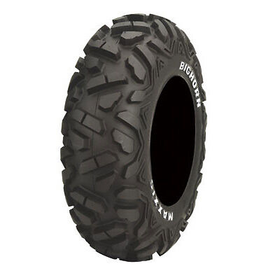 Set of (2) 27-9-12 & (2) 27-12-12 Maxxis Big Horn Radial ATV UTV Tires BigHorn