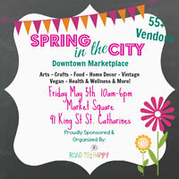 Vendors Wanted For Downtown Marketplace