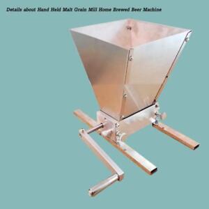 Details about Hand Held Malt Grain Mill Home Brewed Beer Machineitem#020109