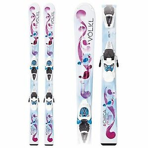 Volkl Girls/Youth All Mountain Ski (Mint Condition)