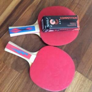 TABLE TENNIS BAT & BALL SET McMahons Point North Sydney Area Preview