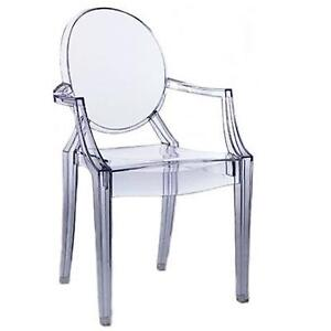 Brand New Ghost Chair with Arms
