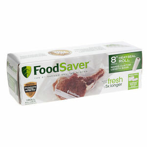 NEW FOODSAVER BAGS PREMADE OR ROLLS
