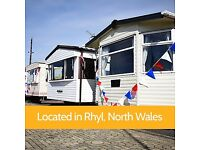 GREAT PRICED Pre Owned & Sited Static Caravan, Rhyl - Pool, Club, Sports Bar, Cafe, Chippy, Fishing.