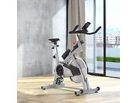 Spinning Flywheel Exercise Bike as New condition