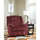 Polyester Red Recliner Chairs