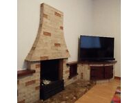 80's Style Marble Fireplace