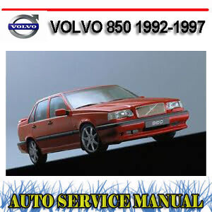 VOLVO 850 1992-1997 WORKSHOP SERVICE REPAIR MANUAL ~ DVD