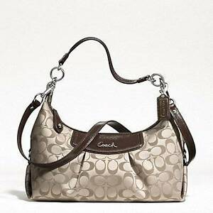 Coach Ashley Signature Convertible Hobo Bag Karawara South Perth Area Preview