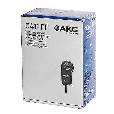 KG Pro Audio C411/PP C411PP Vibration Pickup Good For Stringed Instruments