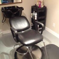 Hairstylists job at home equipment