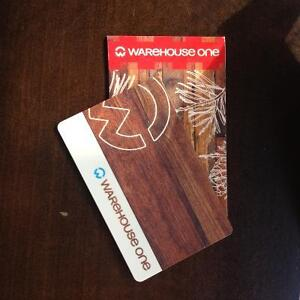 Wearhouse one gift card