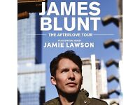 James Blunt ticket - The After Love Tour - BIC