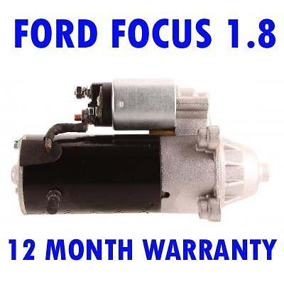 FORD FOCUS 1.8 1998 1999 2000 2001 2002 2003 2004 RMFD STARTER MOTOR