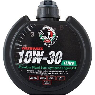 Chief Cherokee Engine Oil 10w 30 1 Litre Super Cheap Auto