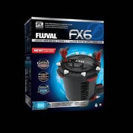 New FLUVAL FX6 CANISTER BEST FILTER