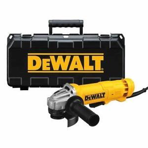 DEWALT DWE402Kr Petite meuleuse angulaire avec fil de 120 V et 4 1/2 po neufff