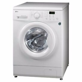 LG 7kg washing machine - white