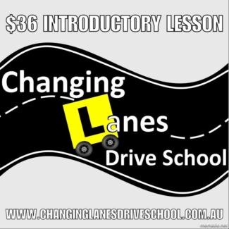 $36 Driving lesson - Introductory offer
