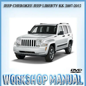 jeep cherokee jeep liberty kk 2007 2012 workshop service. Black Bedroom Furniture Sets. Home Design Ideas