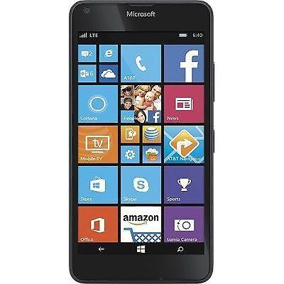 Microsoft Lumia 640 LTE - 8GB - Black (AT&T) Smartphone