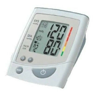 Automatic Inflation Upper Arm Blood Pressure Monitor with Irregu