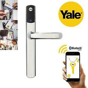 NEW YALE CONEXIS SMART DOOR LOCK SD-L1000-CH 213789890 CHROME KEYLESS
