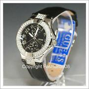 Guess Watch Women Black Leather