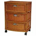 Wicker Chest of Drawers of Drawers