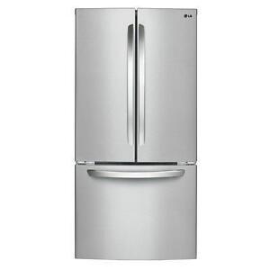 Réfrigérateur LG 33 po, 24 pi. cu., Machine à glaçons, DEL, Couleur Acier Inox, (SKU:1058), Modèle :LFC24786ST