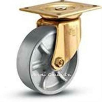 6es1-2 Bassick Es Swivel Plate Caster 6 X 2 Steel Wheel 1500 Lbs Capacity