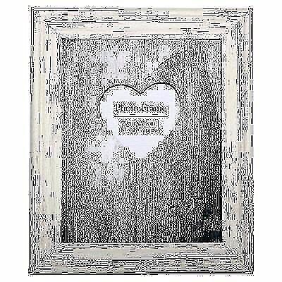 Cream Distressed Wood Frame 8X10 (20cmx25cm): Brand new in sealed pack