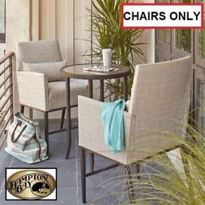 2 NEW HAMPTON BAY BISTRO CHAIRS - 130083973 - ARIA BALCONY