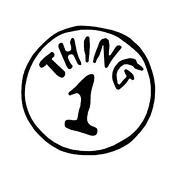 Thing 1 Thing 2 Iron On