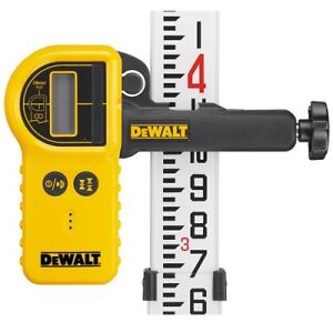 dewalt DW0772 Digital laser detector with clamp neufffff
