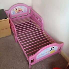 NEW PRINCESS TODDLER BED FRAME