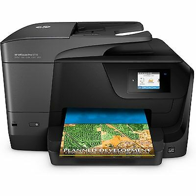 HP OfficeJet Pro 8710 Wireless All in One Photo Printer w/ M