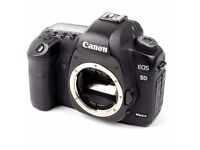 Canon 5D Mark II / MkII Professional DSLR Camera For Sale - hand-delivered for free in London